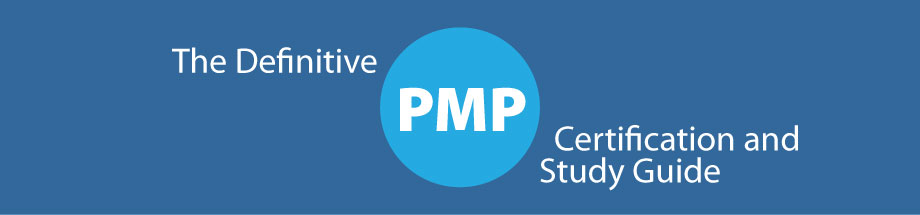 graphic showing the title of the page - the definitive pmp certification study guide