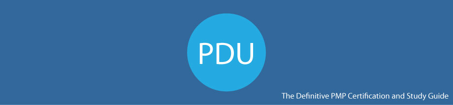 graphic showing the title of the page: pmp pdu requirements